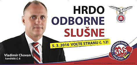 Ing. Vladimír Chovan  (SNS)