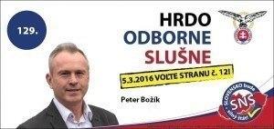Ing. Peter Božík  (SNS)