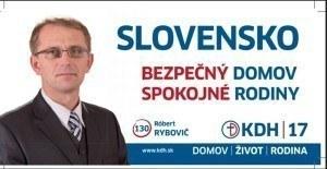 Róbert Rybovič  (KDH)