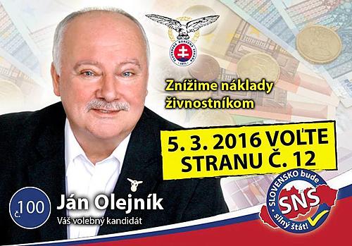 PaedDr. Ján Oleník  (SNS)