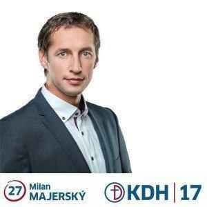 PaedDr. Milan Majerský  (KDH)