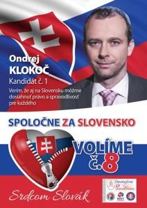 Ondrej Klokoč  (NP+PAS+SĽS)