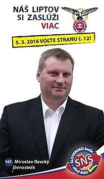 Miroslav Ilavský  (SNS)