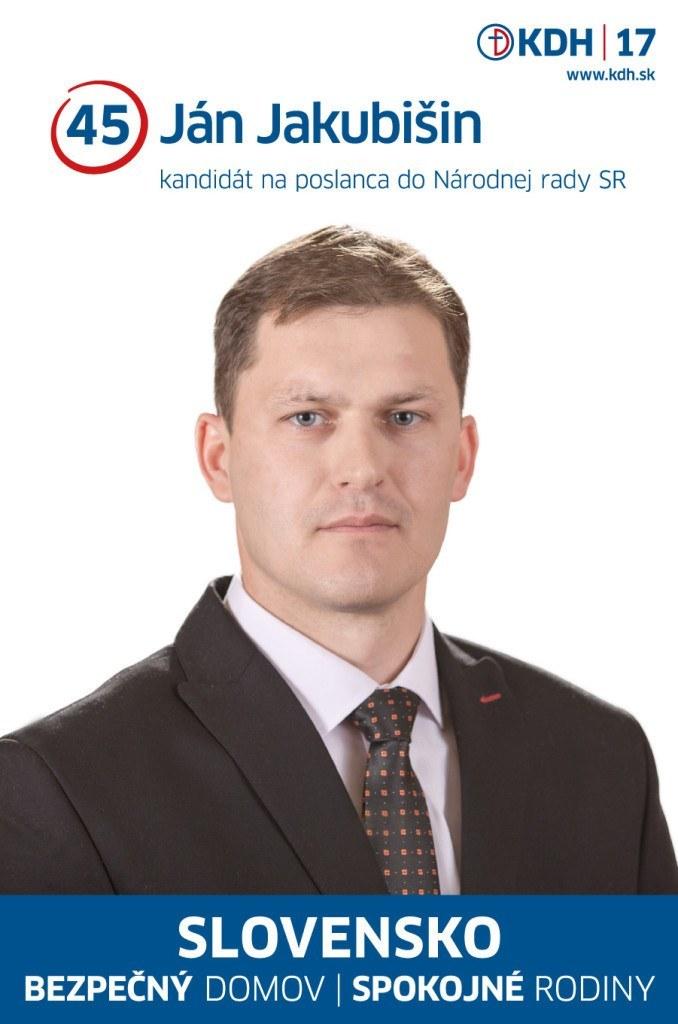 Ján Jakubišin  (KDH)