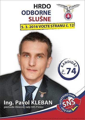 Ing. Pavol Kleban  (SNS)