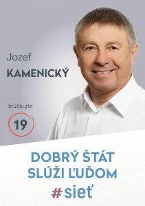 Ing.  Jozef Kamenický  (#SIEŤ)