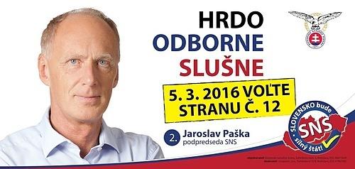Akad.arch. Ing.arch.  Jaroslav Paška  (SNS)