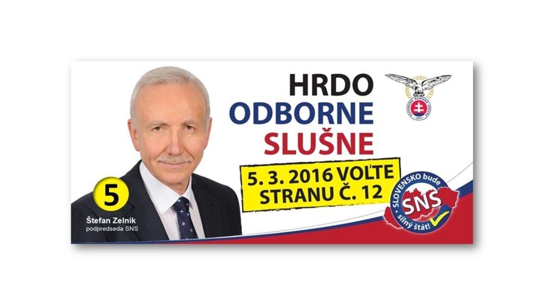 MUDr. Štefan Zelník PhD. (SNS)