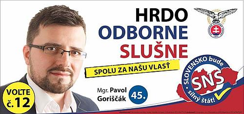Mgr. Pavol Goriščák  (SNS)