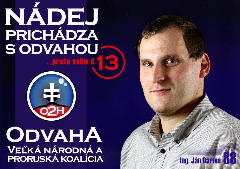 Ing. Ján Darmo  (O2H)