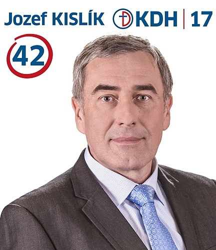 Ing. Jozef KISLÍK  (KDH)