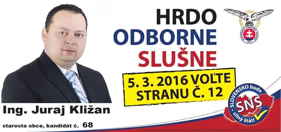 Ing. Juraj Kližan  (SNS)