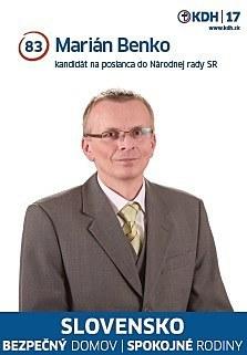 Marián Benko  (KDH)