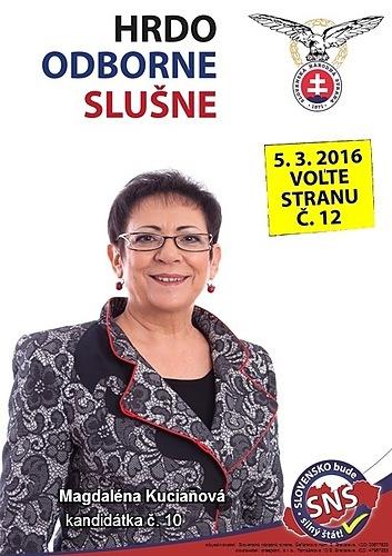 JUDr. Magdaléna Kuciaňová  (SNS)