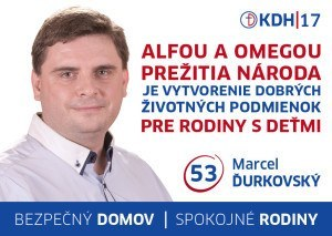 Marcel Ďurkovský  (KDH)