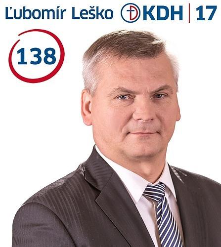 Ing. Ľubomír Leško  (KDH)