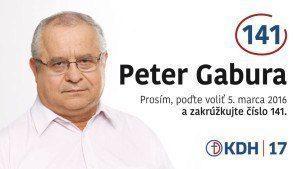 Ing. Peter Gabura  (KDH)