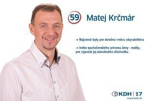 PhDr. Mgr. Matej Krčmár  (KDH)
