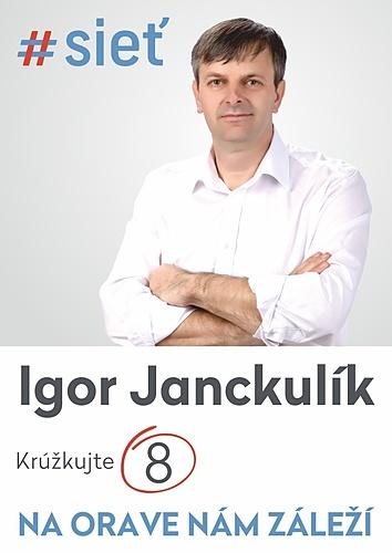 Igor Janckulík  (#SIEŤ)