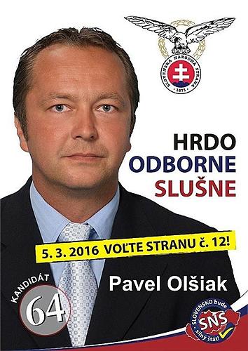 Ing. Pavel Olšiak  (SNS)