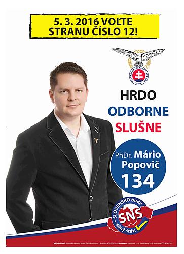 PhDr.  Mário Popovič  (SNS)