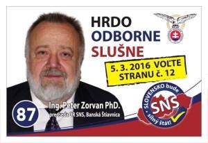 Ing. Peter Zorvan PhD. (SNS)