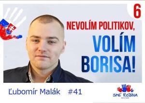 Ľubomír Malák  (SME RODINA)
