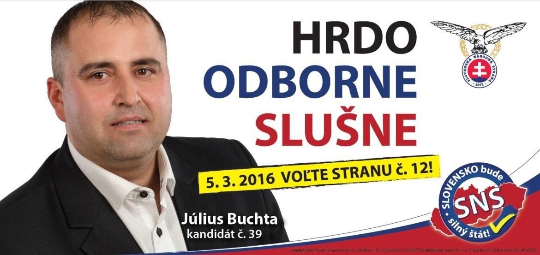 Ing.  Július  Buchta   (SNS)
