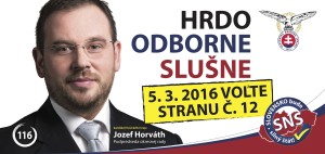 Jozef Horvath  (SNS)