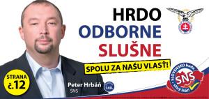 Peter Hrbáň  (SNS)