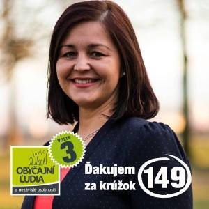 Ing. Erika Jurinová  (OĽANO - NOVA)