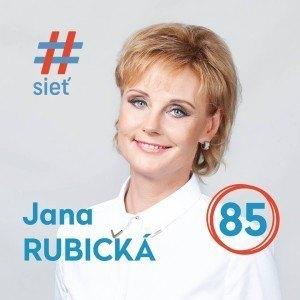 Mgr. Jana Rubická  (#SIEŤ)