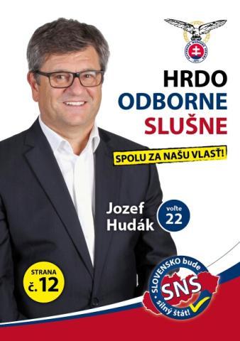 Ing. Jozef Hudák MBA (SNS)