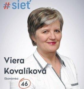 Ing. Viera Kovalíková  (#SIEŤ)