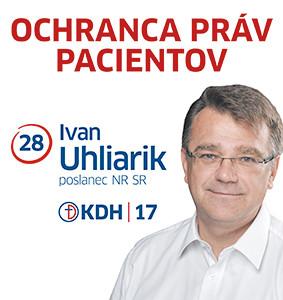 MUDr. Ivan Uhliarik  (KDH)
