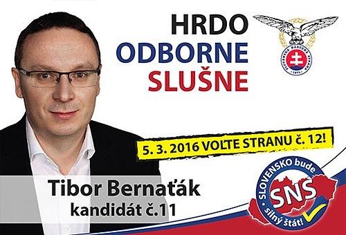 JUDr. Tibor  Bernaťák  (SNS)