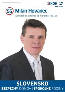 Mgr. Milan Hovanec  (KDH)