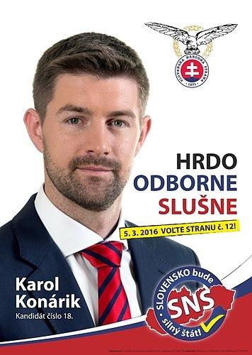 Ing. Karol Konárik  (SNS)