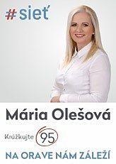PaedDr. Ing. Maria Olešová  (#SIEŤ)