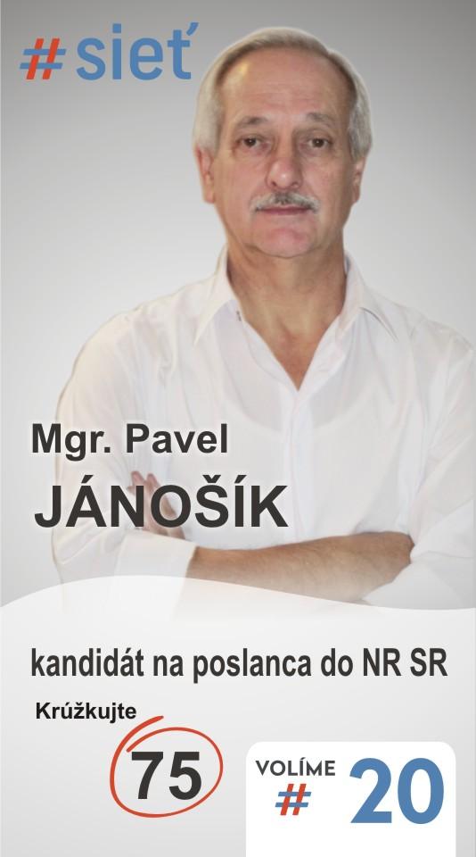 Mgr. Pavel Jánošík  (#SIEŤ)