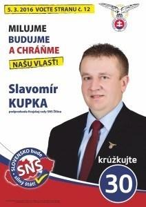 Slavomír Kupka  (SNS)