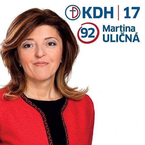 Mgr. Martina Uličná  (KDH)