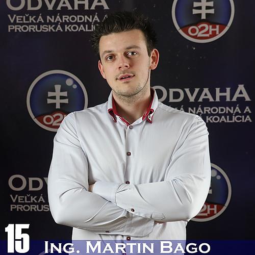 Ing. Martin Bago  (O2H)
