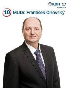 MUDr. František Orlovský  (KDH)