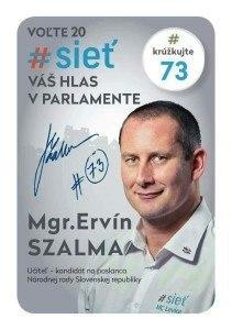 Mgr. Ervín Szalma  (#SIEŤ)