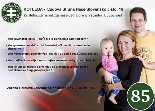 Zuzana Garelová  (ĽS Naše Slovensk)