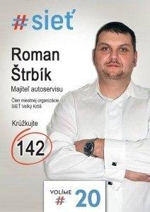 Roman Štrbík  (#SIEŤ)